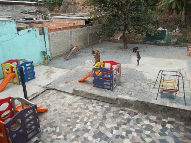 O novo espaço possui ampla área para o playground