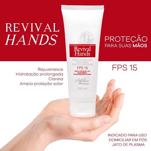 Hidratante e proteção para as mãos e braços